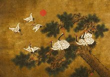Coordonne Random Chinoiseries Behang