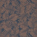 Behang Harlequin Espinillo 111393 indigo copper Callista collectie luxury by nature