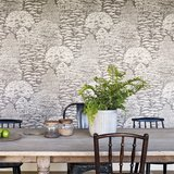Behang Sanderson Woodland Toile 215716 Woodland Walk Luxury By Nature sfeer 2