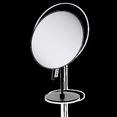 Staande Make-up Spiegel Zwart Mat SPT 71 3x