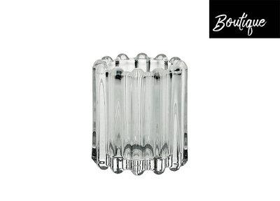 Waxinelichthouder Brooklyn Glas