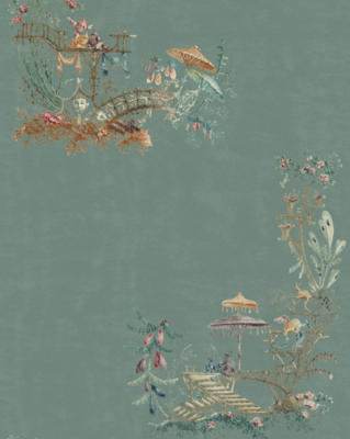 Mind the Gap Chinoiserie Behang
