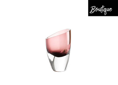 Mondgeblazen Glazen Vaas Roze