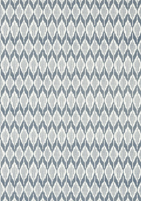 Anna French Balin Ikat Behang - Small Scale