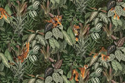 Rebel Walls Mischievous Tigers Behang