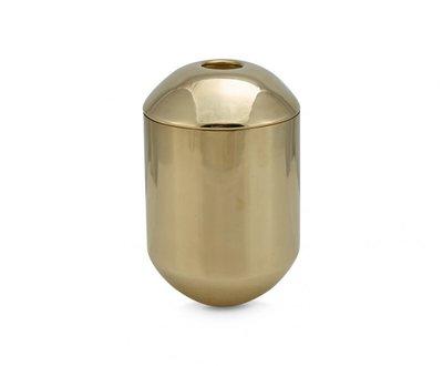 Tom Dixon Form Bewaarbus Voor Thee (Tea Caddy) Brass