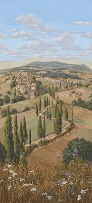 Pierre Frey Voyage en Toscane la Campagne Behang
