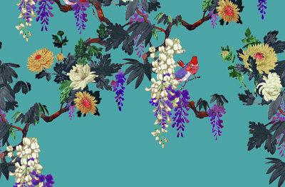 ETRO Secret Garden Behang