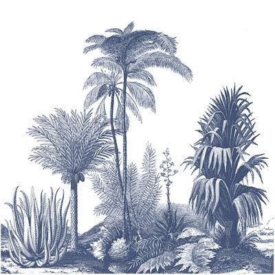 Les Dominotiers Aloes Behang