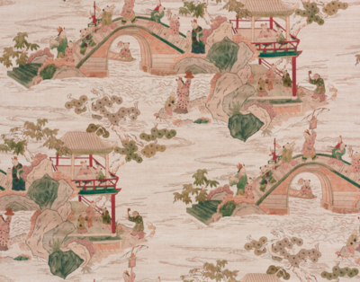 Pierre Frey Shaolin Original Wallcovering