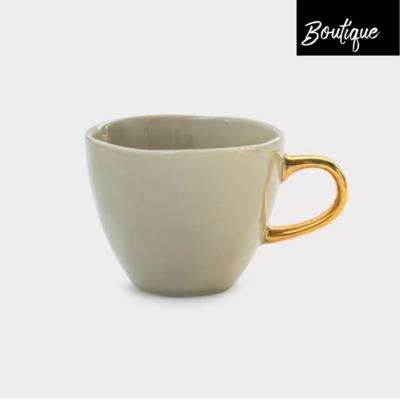 Good Morning, grey Coffee Cup