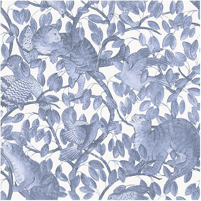 Les Dominotiers Enchanted River Wallcovering