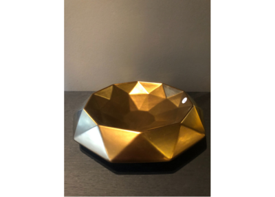 Bosa Ceramiche Centerpiece Gold Cut