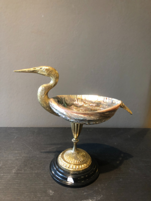Luxury Decorative Bird with Shell / Mother of Pearl