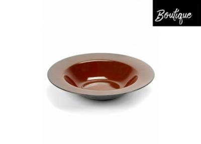 Serax Soup plate Rust / Smokey Blue