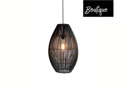 Duran Figura Ellips Hanglamp Medium Zwart