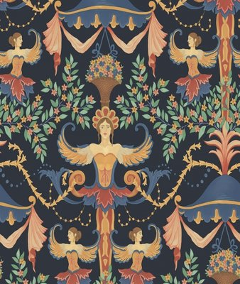Cole and Son Chamber Angels Wallcovering