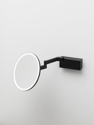 Decor Walther Cosmetic Mirror Vision R Black Matt