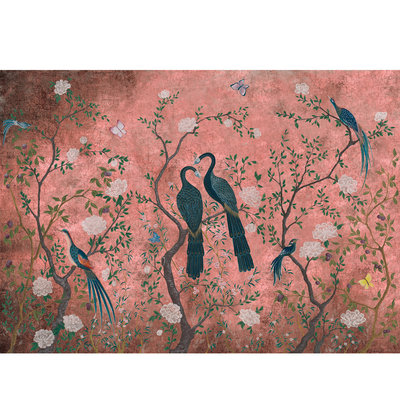 Coordonne Edo Dusky Pink Behang Papier