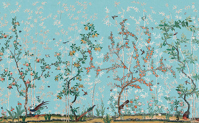 Chinoiserie: Exotische Vogels (Historische Behangsels)