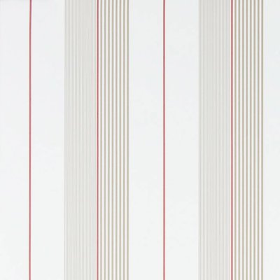 Aiden Stripe 'Natural / Red'