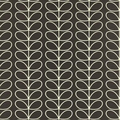 Linear Stem Zwart