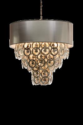 Lumière Hanglamp Glasschakel 9-Laags