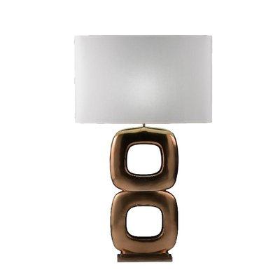 Stout Verlichting Tafellamp Maxime Due Quadrato Goud Brons