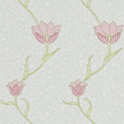 Tulpen Behang Morris & Co