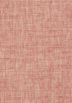 Thibaut Wicker Weave Behang - Red