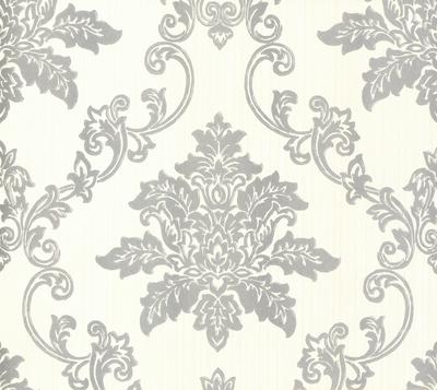 Hampton Behang 1838 Wallcoverings - Silver
