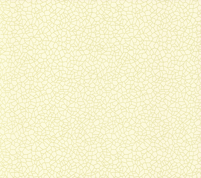 1838 Wallcoverings Kew Behang - Yellow