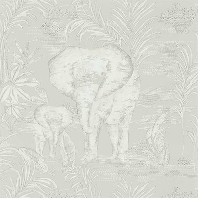 Olifanten Behang Harlequin Kinabalu
