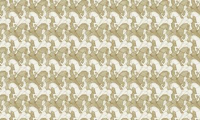 Escher Paarden Behang