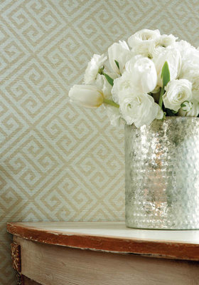 SALE 2 rolls Maze Grasscloth Wallcovering Thibaut
