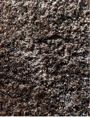 Ebru Step Black Mix Rug 30 mm