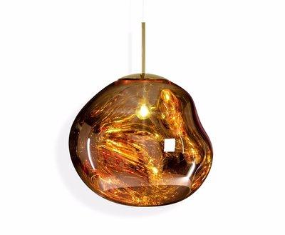 Tom Dixon Melt LED Pendant Gold Ceiling Light