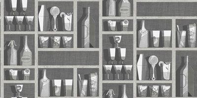 Fornasetti Cocktails Behang