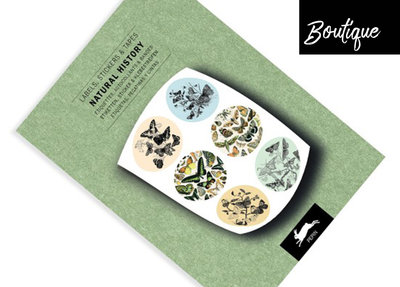 Pepin Press Stickervellen Boek Natural History