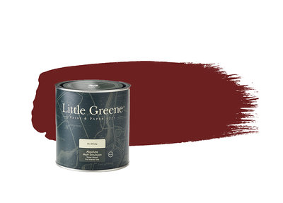 Little Greene Paint Bronze Red (15)