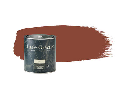 Little Greene Paint Tuscan Red (140)