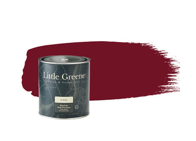 Little Greene Paint Theatre Red (192)