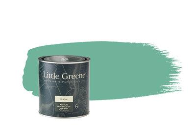 Little Greene Paint Turquoise Blue (93)