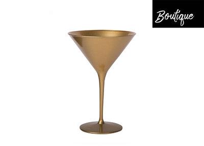 Goud Cocktailglas 240ml - set van 2