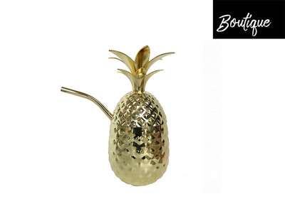 Gouden Ananas Tumbler Medium