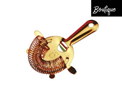 Luxe Strainer Gold Plated