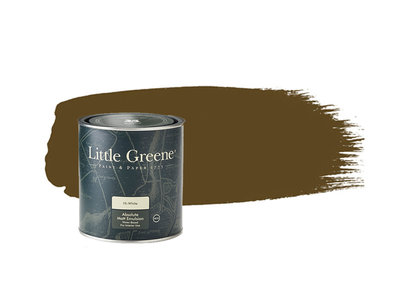 Little Greene Verf Light Bronze Green (123)