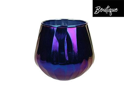 Waxinelichthouder Glas Olie Large