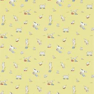 behang little sanderson kinderkamerbehang dogs in clogs