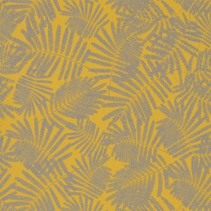 Behang Harlequin Espinillo 111392 mimosa - pewter Callista collectie luxury by nature